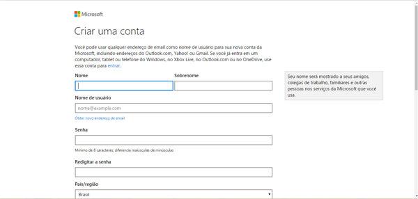Hotmail Entrar: como fazer cadastro gratuito?