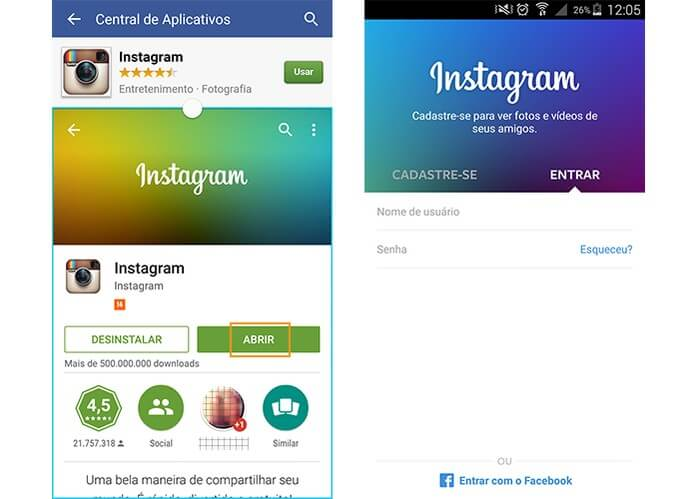 Como baixar o meu Instagram? Veja aqui um tutorial rápido e simples!