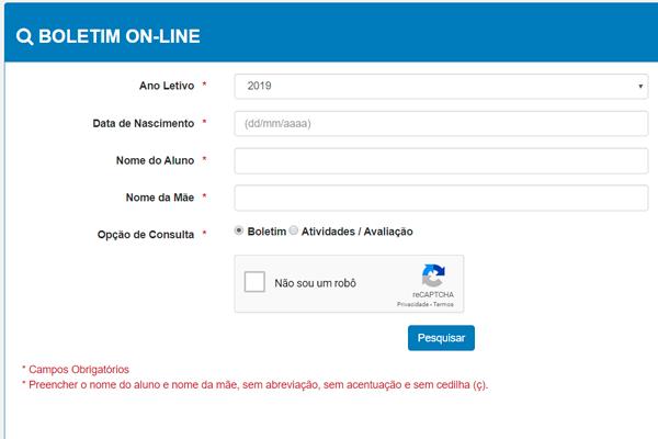 Boletim Online Pará 2020