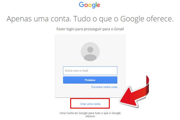 entrar no gmail - passo 4