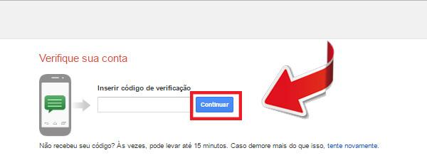 entrar no gmail - passo 8