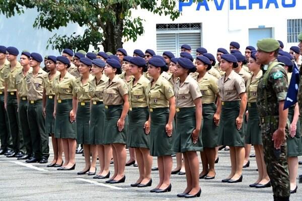 Como funciona o alistamento militar feminino