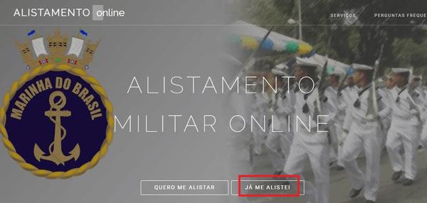 Acompanhar situação do alistamento militar online