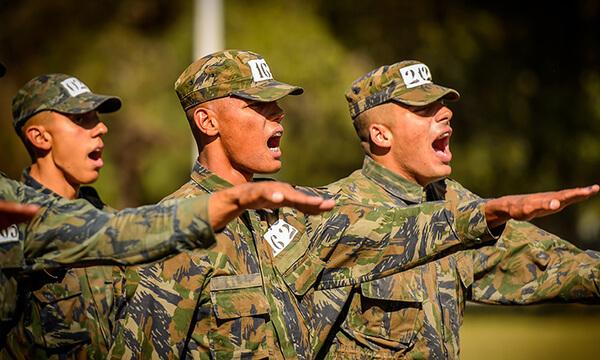 Militares no exército brasileiro