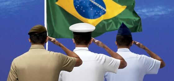 Patentes do Exército, Marinha e Aeronáutica